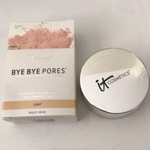 It Cosmetics Bye Bye Pores Finishing Powder
